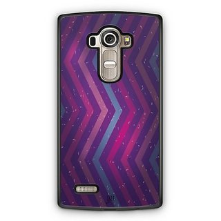 YuBingo Zig Zag Pattern with Confetti Designer Mobile Case Back Cover for LG G4