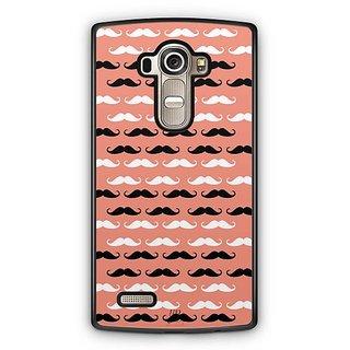 YuBingo Moustache Designer Mobile Case Back Cover for LG G4