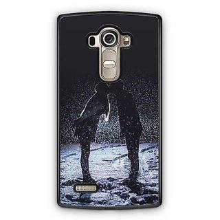 YuBingo Couple in Love Designer Mobile Case Back Cover for LG G4