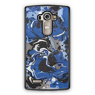 YuBingo Colourful Marble Finish (Plastic) Designer Mobile Case Back Cover for LG G4