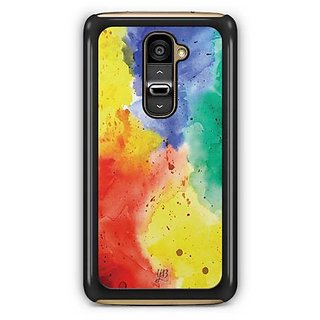 YuBingo Rainbow Designer Mobile Case Back Cover for LG G2