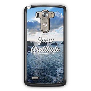 YuBingo Grow Gratitude Designer Mobile Case Back Cover for LG G3