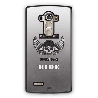YuBingo Live To Ride Designer Mobile Case Back Cover for LG G4