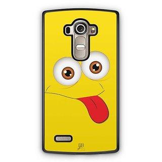 YuBingo Funny Smiley Designer Mobile Case Back Cover for LG G4