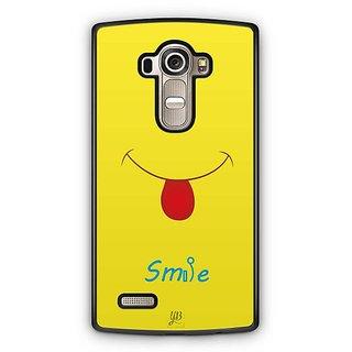 YuBingo Smile Please Designer Mobile Case Back Cover for LG G4