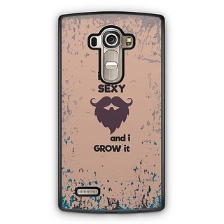 YuBingo It's Sexy and I Grow it Designer Mobile Case Back Cover for LG G4