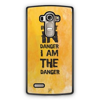 YuBingo I Am The Danger Designer Mobile Case Back Cover for LG G4