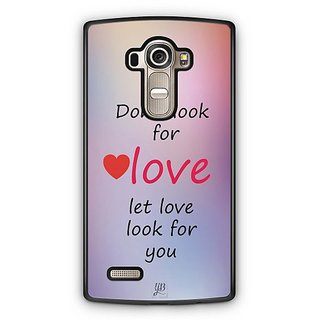 YuBingo Let Love Look For You Designer Mobile Case Back Cover for LG G4