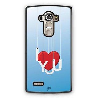YuBingo I Love You Designer Mobile Case Back Cover for LG G4