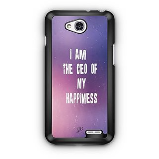 YuBingo I am the CEO of My happiness Designer Mobile Case Back Cover for LG L90