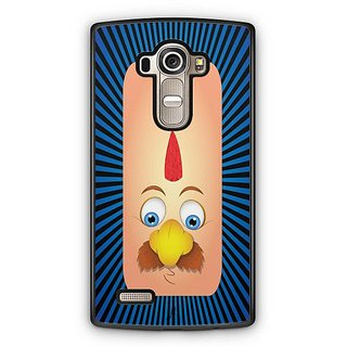 YuBingo Funny Moustache Face Designer Mobile Case Back Cover for LG G4