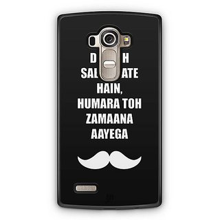YuBingo Hamara Toh Zamana Aayega Designer Mobile Case Back Cover for LG G4