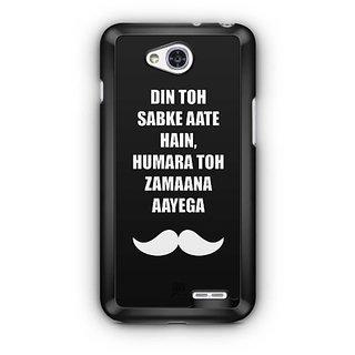 YuBingo Hamara Toh Zamana Aayega Designer Mobile Case Back Cover for LG L90