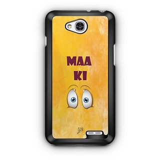 YuBingo Maa Ki Ankh Designer Mobile Case Back Cover for LG L90