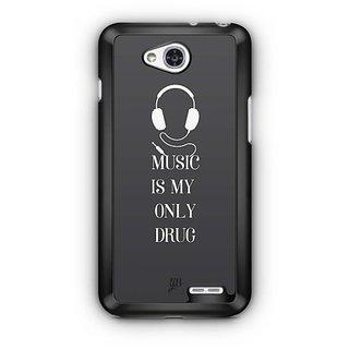 YuBingo Music Is My Only Drug Designer Mobile Case Back Cover for LG L90