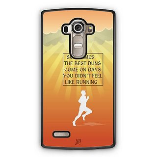 YuBingo Best Runs Designer Mobile Case Back Cover for LG G4