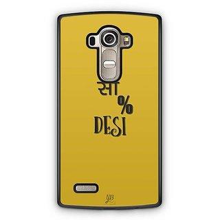 YuBingo 100% Desi Designer Mobile Case Back Cover for LG G4
