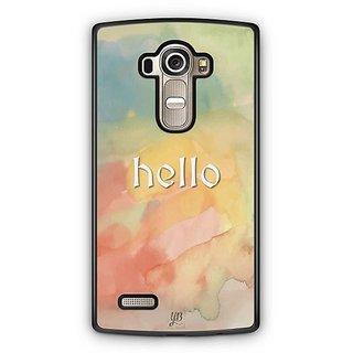 YuBingo Hello Designer Mobile Case Back Cover for LG G4