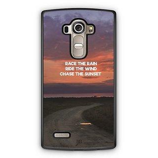 YuBingo Chase The Sunset Designer Mobile Case Back Cover for LG G4
