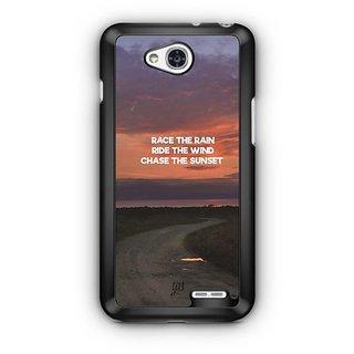 YuBingo Chase The Sunset Designer Mobile Case Back Cover for LG L90