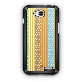 YuBingo Dots and Stripes Pattern Designer Mobile Case Back Cover for LG L90