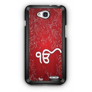 YuBingo Ik Onkar Designer Mobile Case Back Cover for LG L90