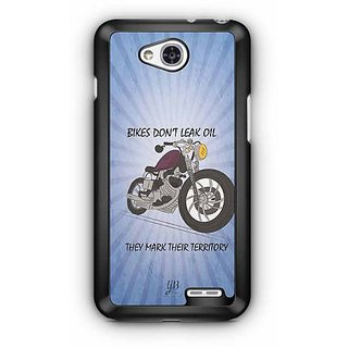 YuBingo Bikes Don't Leak Oil Designer Mobile Case Back Cover for LG L90