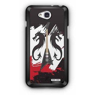 YuBingo All that Jazz Designer Mobile Case Back Cover for LG L90