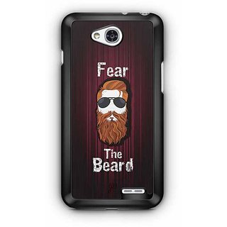 YuBingo Fear the Beard Designer Mobile Case Back Cover for LG L90
