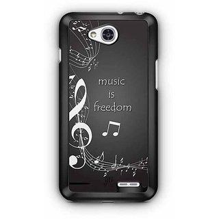 YuBingo Music is Freedom Designer Mobile Case Back Cover for LG L90