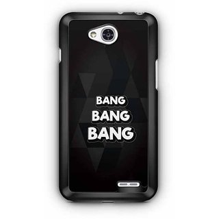 YuBingo Bang, Bang, Bang Designer Mobile Case Back Cover for LG L90