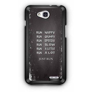 YuBingo Just Run Designer Mobile Case Back Cover for LG L90