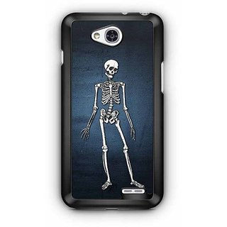 YuBingo Skeleton Designer Mobile Case Back Cover for LG L90