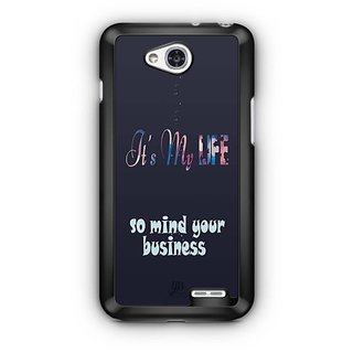 YuBingo Mind your Business Designer Mobile Case Back Cover for LG L90