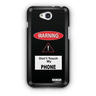 YuBingo Don't touch my phone Designer Mobile Case Back Cover for LG L90