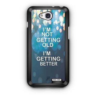 YuBingo I am getting Better Designer Mobile Case Back Cover for LG L90