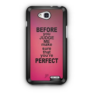 YuBingo Make sure you're perfect Designer Mobile Case Back Cover for LG L90