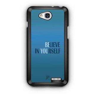 YuBingo Believe in Yourself Designer Mobile Case Back Cover for LG L90