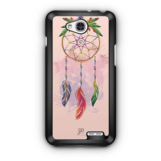 YuBingo Beautiful Feather Wall Art Designer Mobile Case Back Cover for LG L90