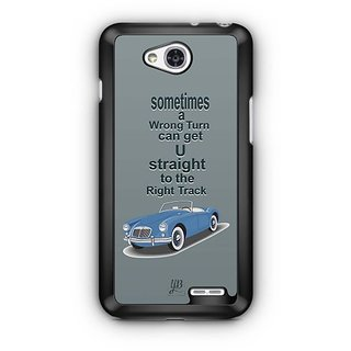 YuBingo Straight to the Right Track Designer Mobile Case Back Cover for LG L90