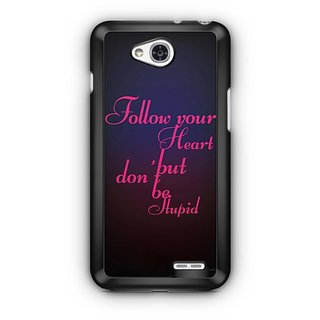 YuBingo Follow your Heart Designer Mobile Case Back Cover for LG L90