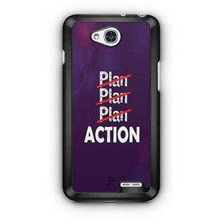 YuBingo Don't just plan. Action it. Designer Mobile Case Back Cover for LG L90