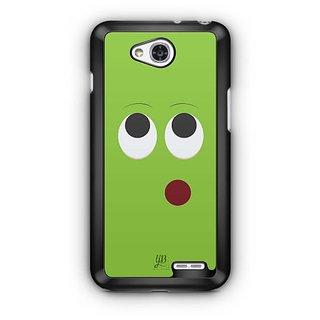 YuBingo Thinking Smiley Designer Mobile Case Back Cover for LG L90