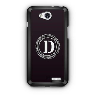 YuBingo Monogram with Beautifully Written letter D Designer Mobile Case Back Cover for LG L90