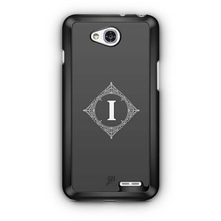 YuBingo Monogram with Beautifully Written letter I Designer Mobile Case Back Cover for LG L90