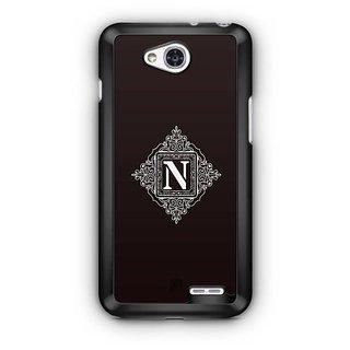 YuBingo Monogram with Beautifully Written letter N Designer Mobile Case Back Cover for LG L90