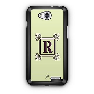 YuBingo Monogram with Beautifully Written letter R Designer Mobile Case Back Cover for LG L90