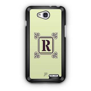 YuBingo Monogram with Beautifully Written letter R Designer Mobile Case Back Cover for LG L90