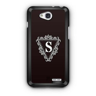 YuBingo Monogram with Beautifully Written letter S Designer Mobile Case Back Cover for LG L90