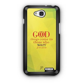YuBingo Go out and Run Designer Mobile Case Back Cover for LG L90